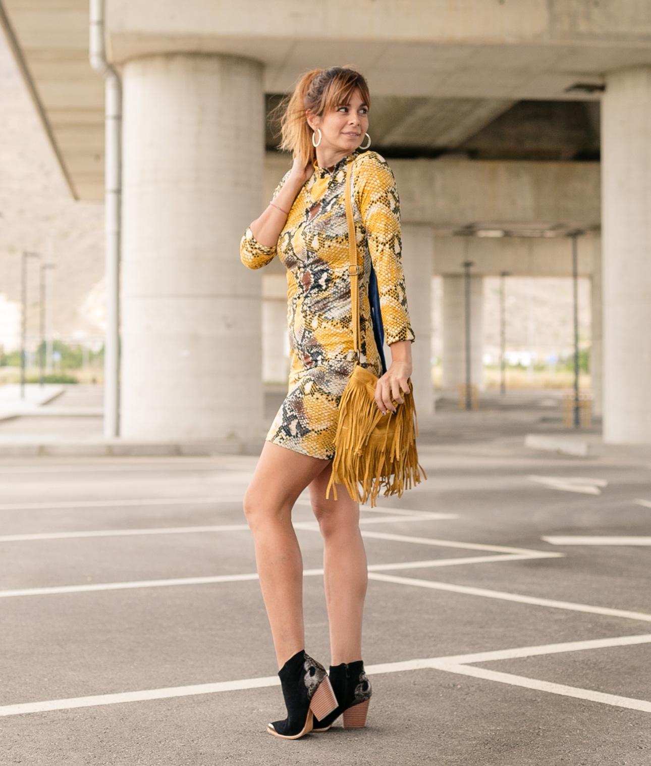 Vestido Yamin - Amarillo
