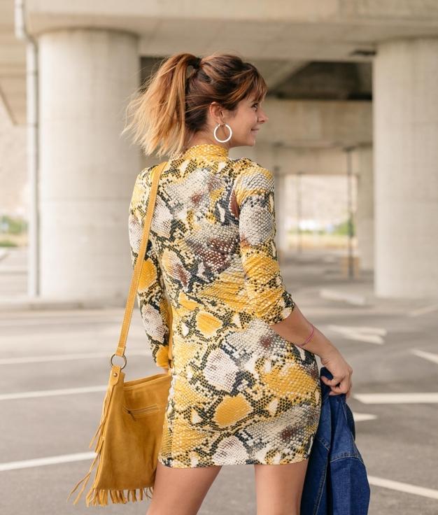 Dress Yamin - Yellow