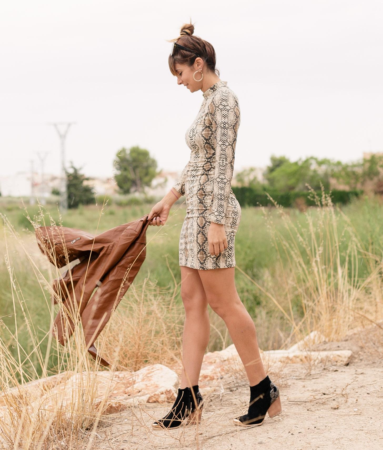 Vestido Yamin - Taupe
