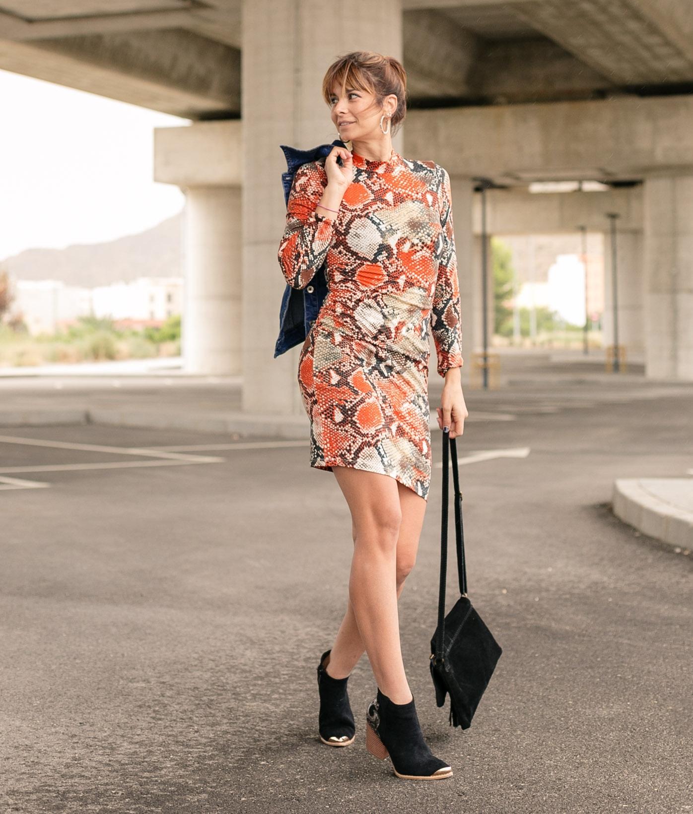 Dress Yamin - Orange