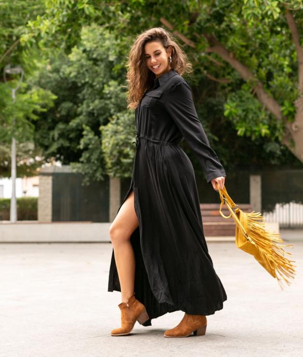 Dress Texon - Black