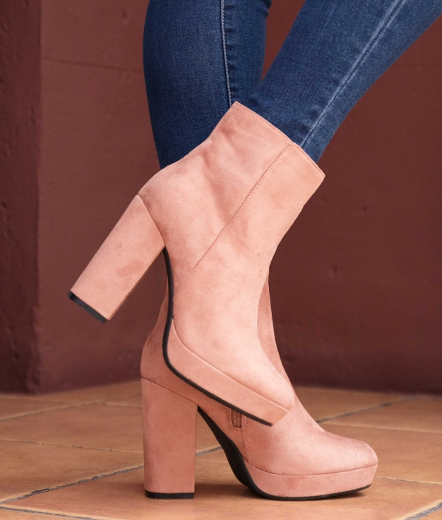 Low Boot Tedin - Pink
