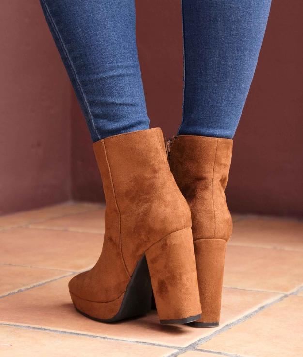 Low Boot Tedin - Camel