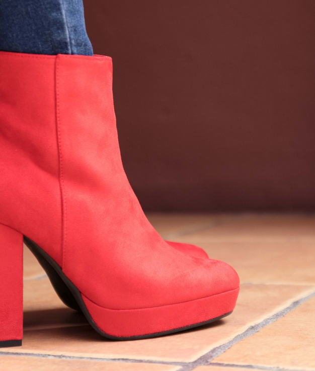 Low Boot Tedin - Red