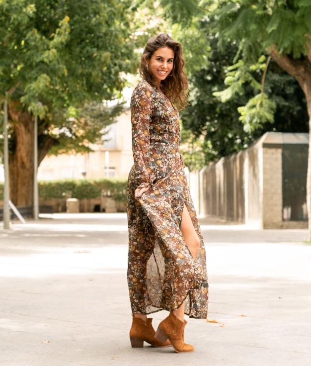 Dress Acti - Green