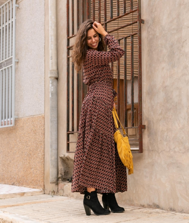 Dress Yila - Red