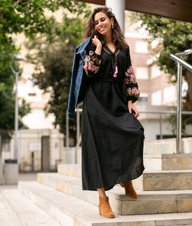 Dress Coin - Black