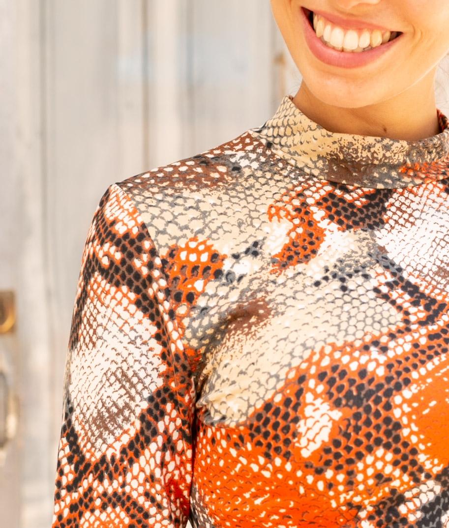 Camiseta Rubes - Naranja