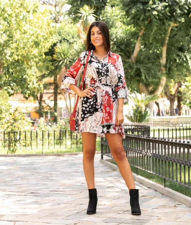 Vestido Camei - Multicolorido