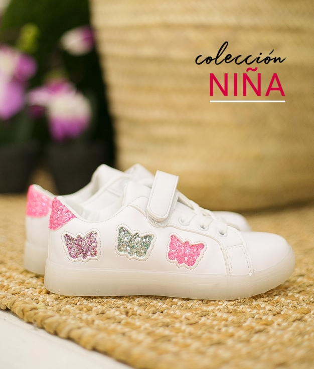 Sneakers Burfly - White