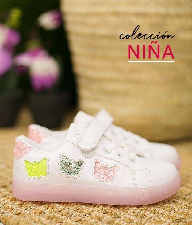 Sneakers Burfly - Pink