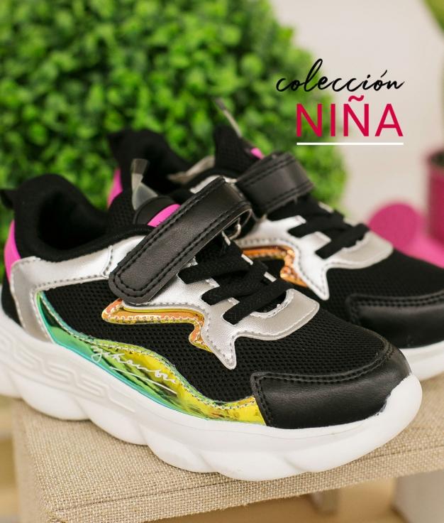 Sneakers Flura - Preto