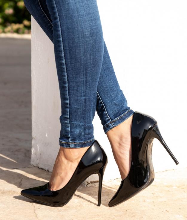Zapato de Tacón Wallas - Negro