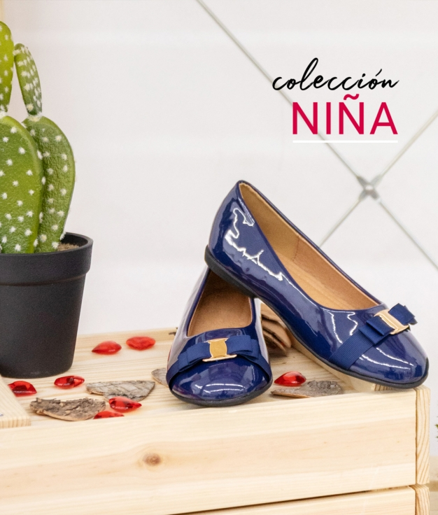 Zapato Geren - Azul Marino