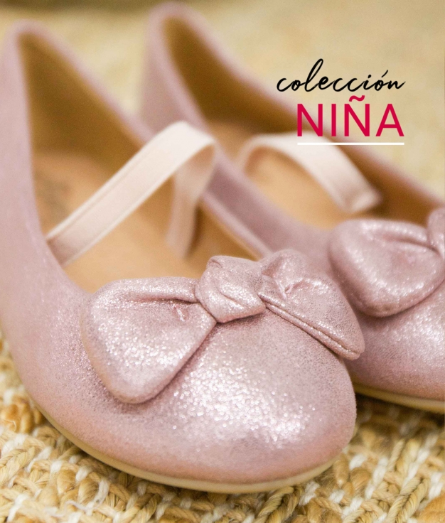 Ballerines Besel - Rose