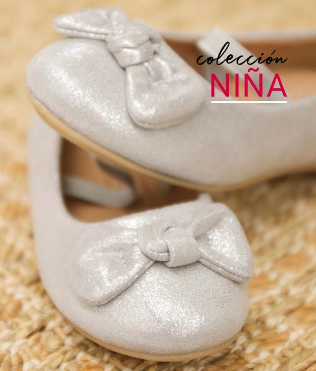 Ballerinas Besel - Silver