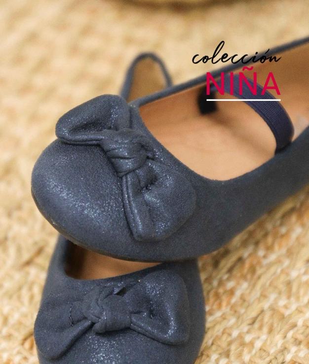 Ballerinas Besel - Dark Blue