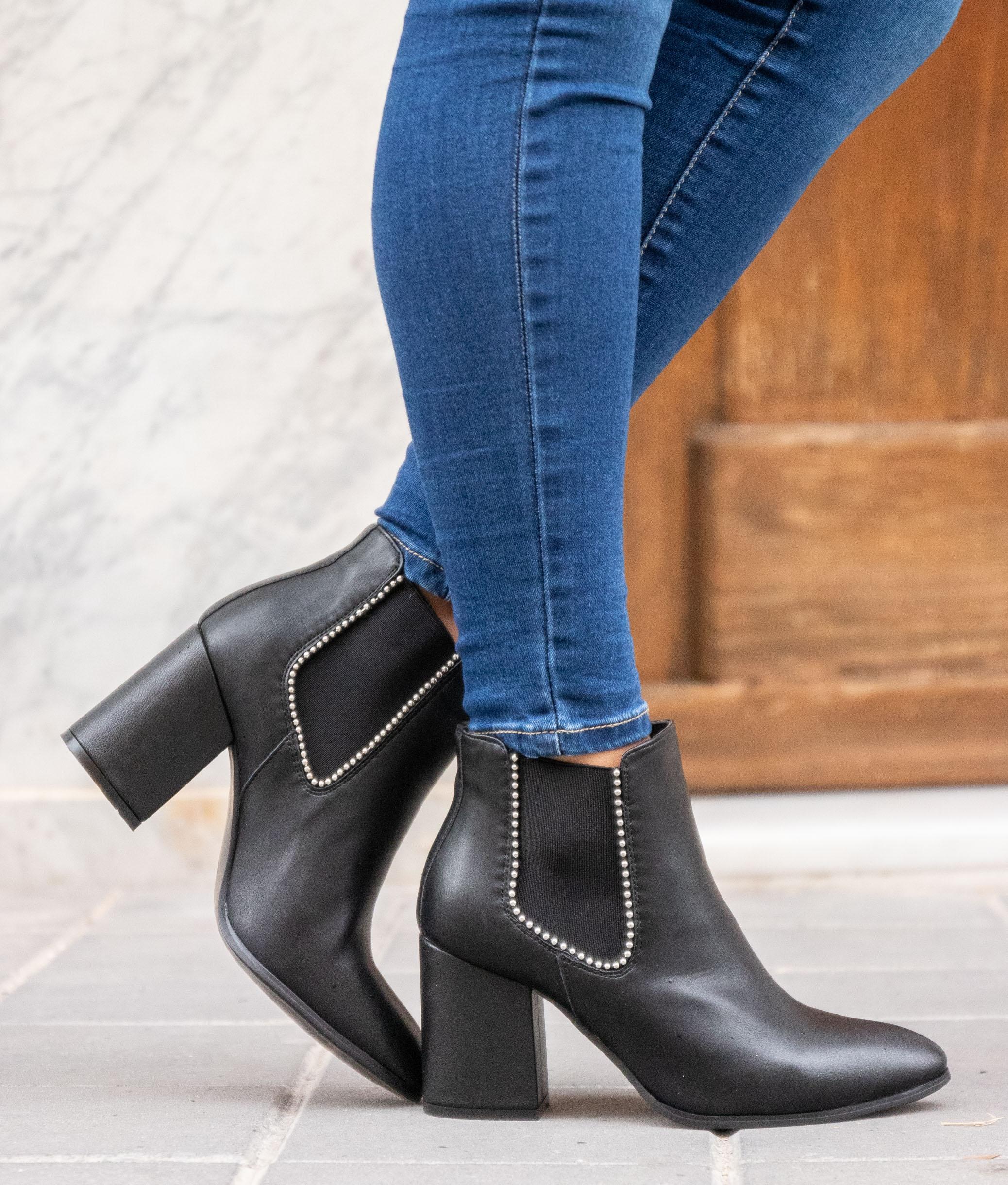 Low Boot Preston - Black