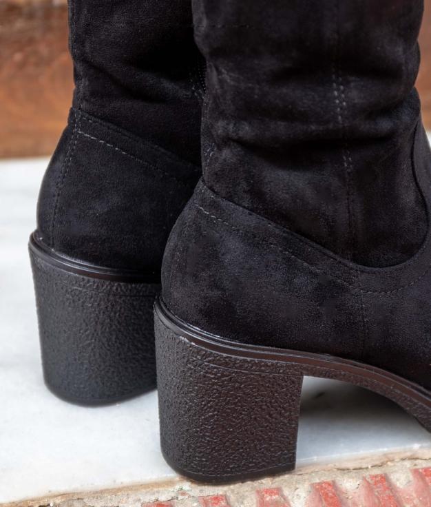 Knee-length Boot Hove - Black