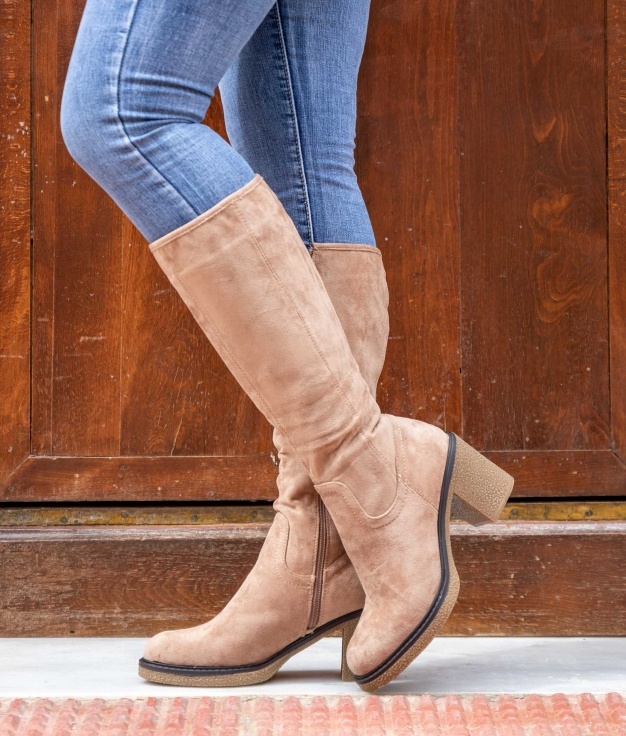 Knee-length Boot Hove - Camel