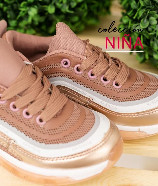 Sneakers Urso - Nude