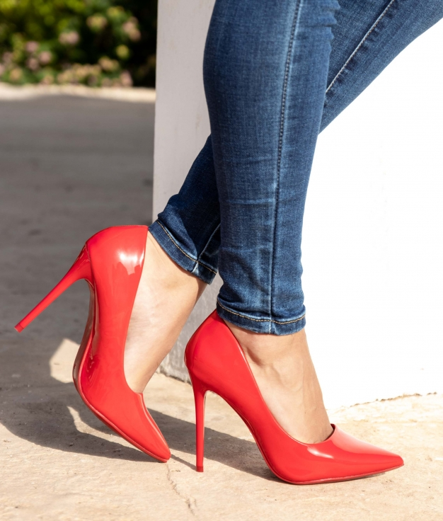 Shoe Wallas - Red