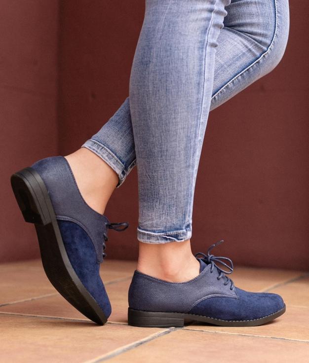 Zapato Tuks - Bleu