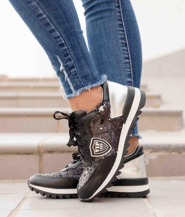 Sneakers Supera - Preto
