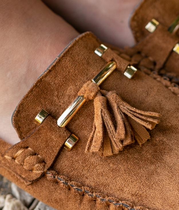 Zapato Nígar - Cammello