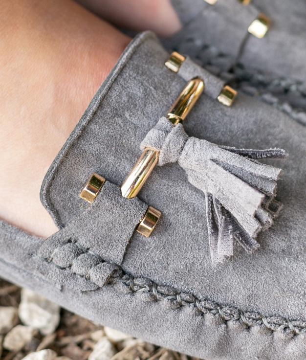 Zapato Nígar - Cinza