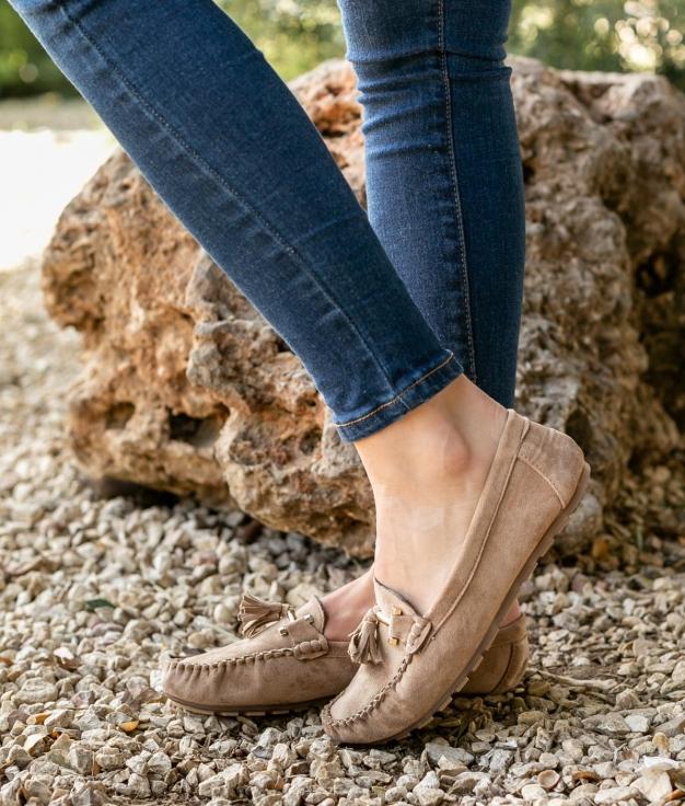 Zapato Nígar - Bege