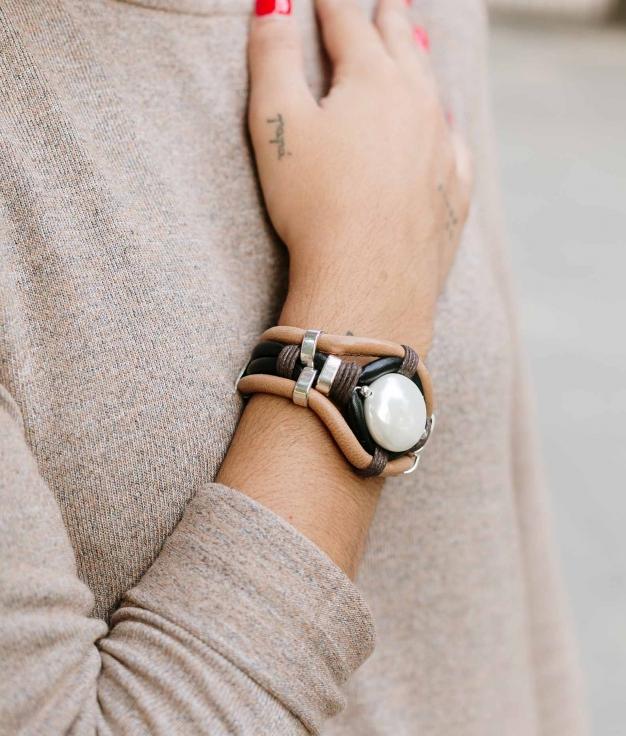 Bracelet Maisha- Marron