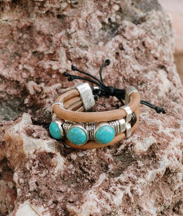 Bracelet Altair- Marron