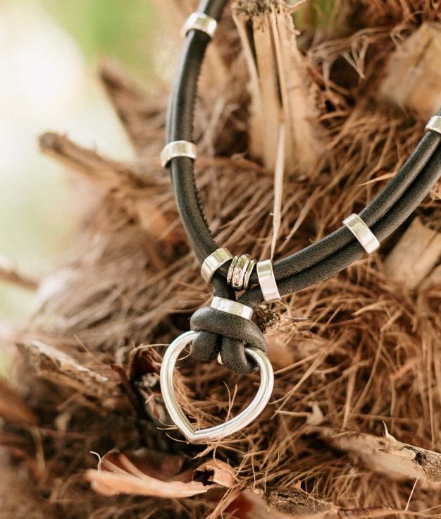 Necklace Crux - Black