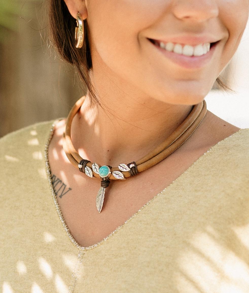 Collar Fenix - Marron
