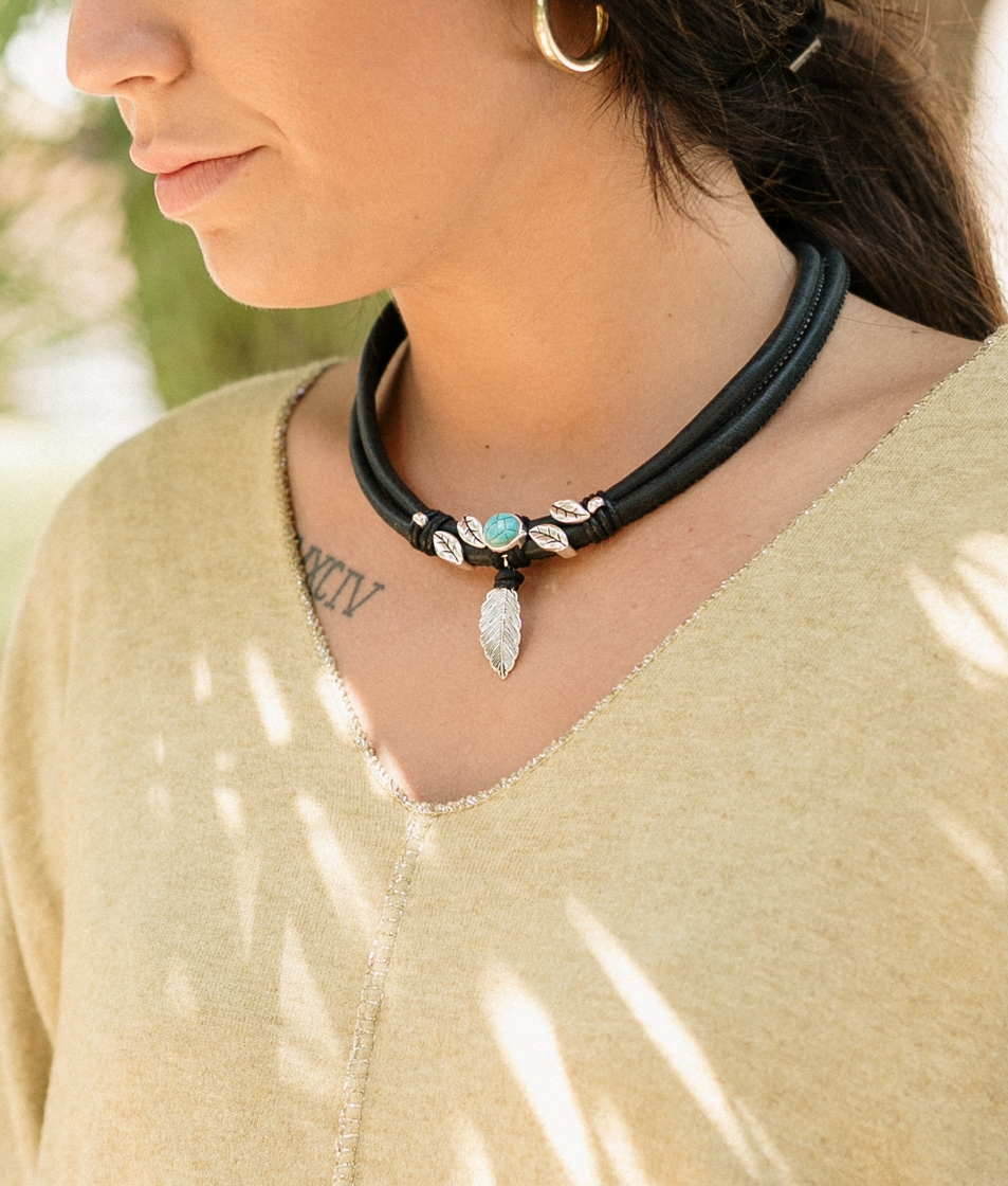 Collar Fenix - Negro