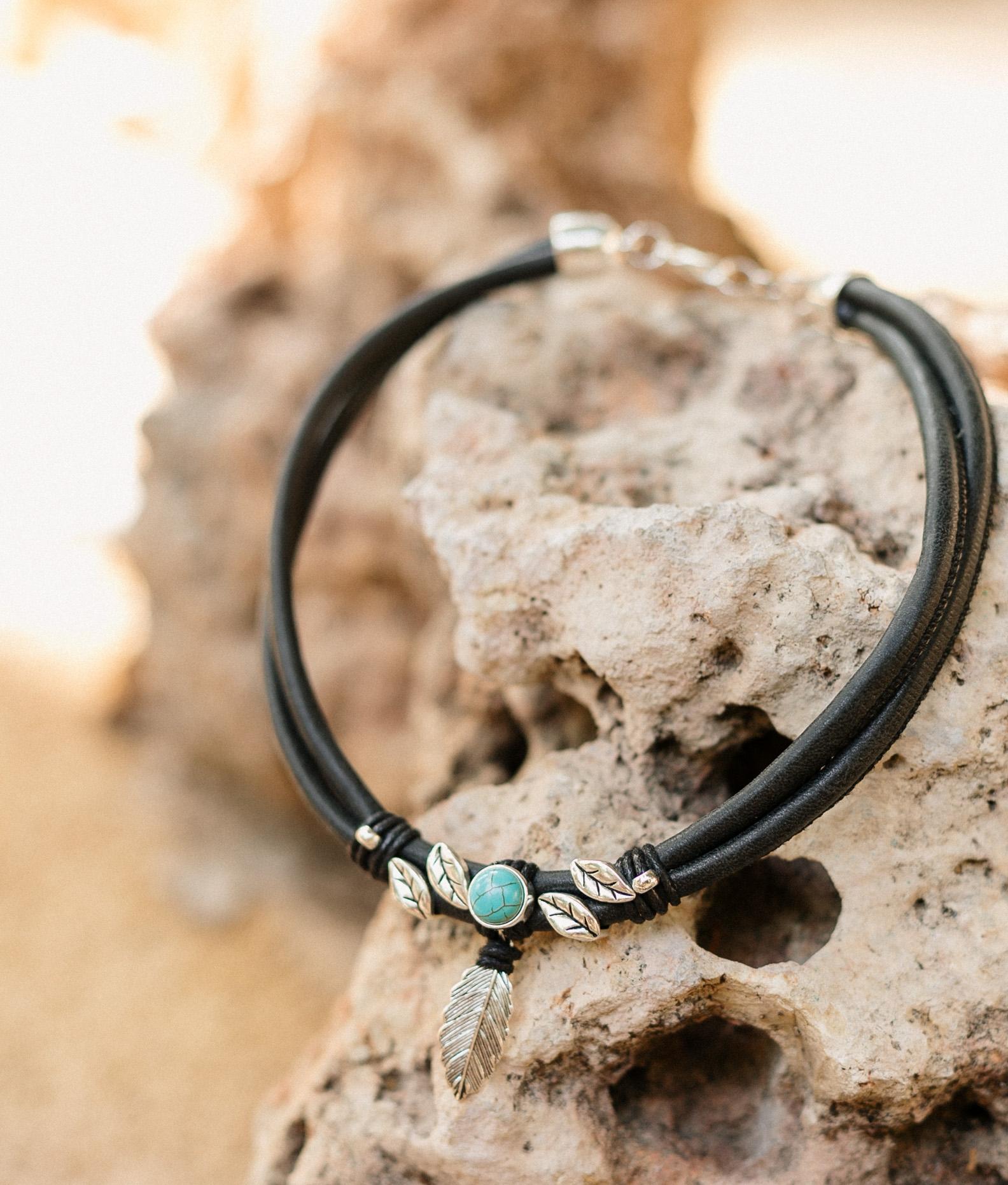 Necklace Fenix - Black