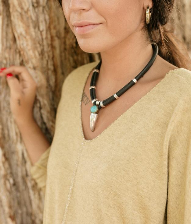 Necklace Deneb - Black