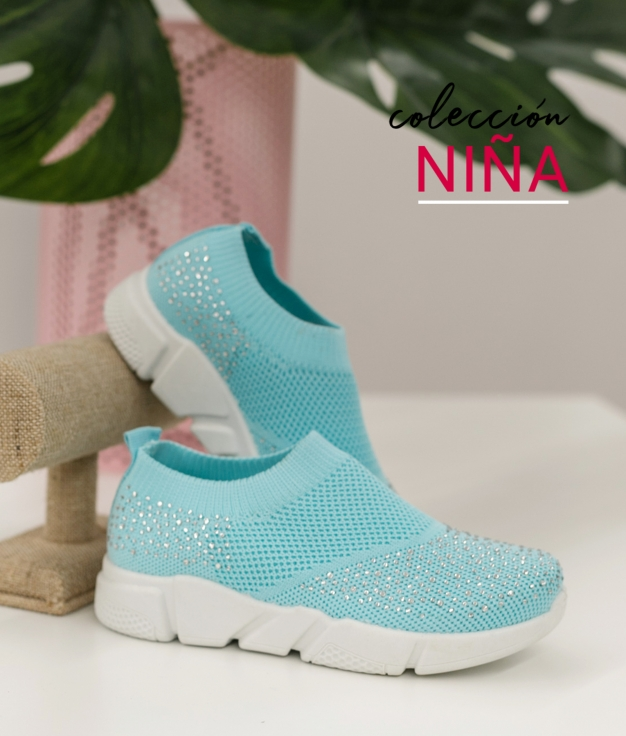 Sneakers Beron - Bleu