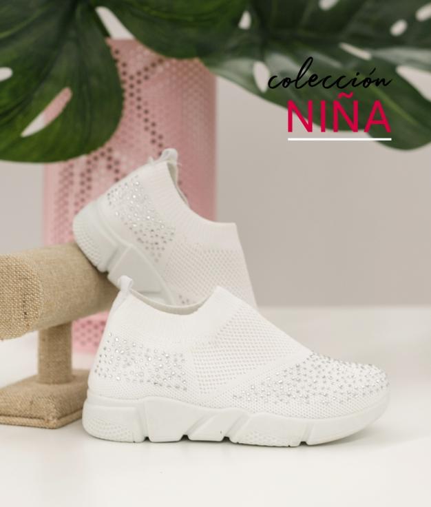 Sneakers Beron - Bianco