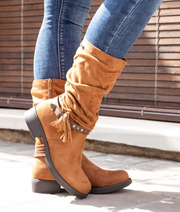 Knee-length Boot Espir - Camel