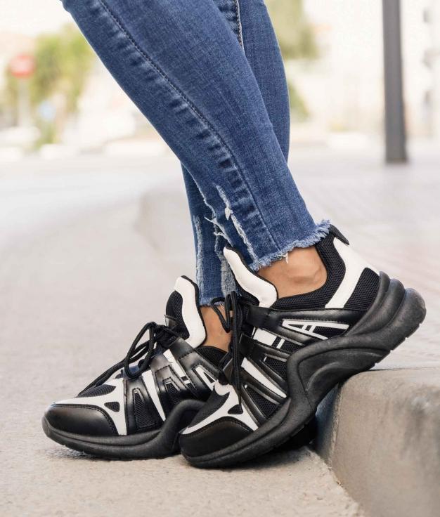 Sneakers Lupin - Preto