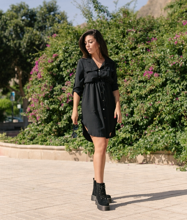 Dress Ligia - Black
