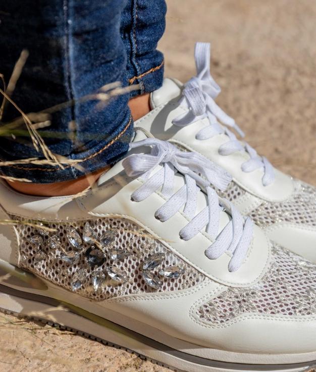 Sneakers Suprem - Blanc