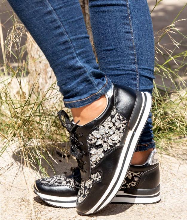 Sneakers Suprem - Negro