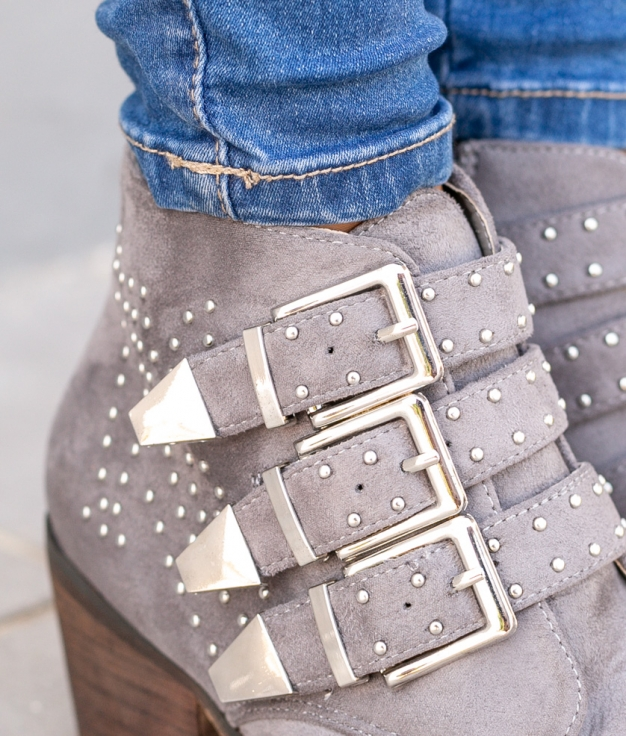 Low Boot Cowes - Grey