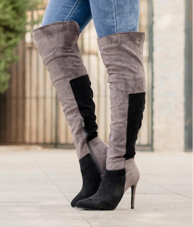 Knee-length Boot Peires - Black