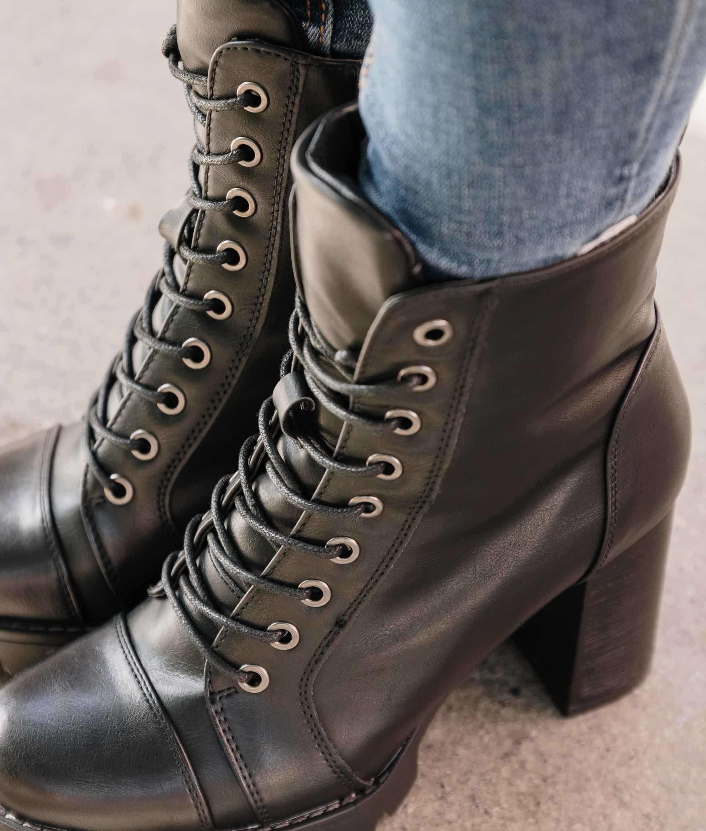 Boot Petite Coners - Noir