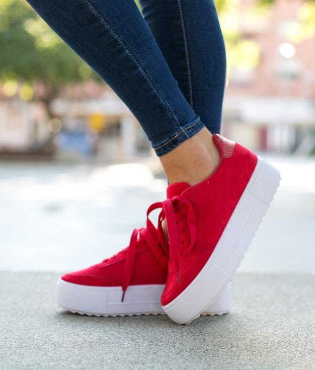Sneakers Kastor - Rosso