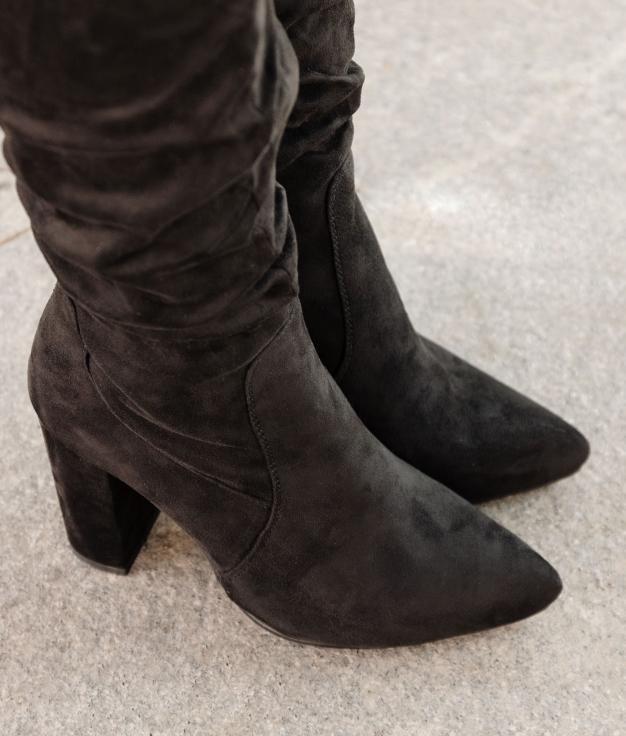 Knee-length Boot Merole - Black